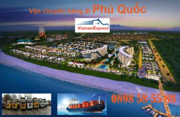 Vận tải Bắc Nam: Vận tải đường bộ Tàu Xà lan đi Phú Quốc giá rẻ