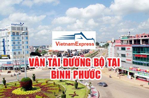 Dịch vụ vận chuyển đường bộ từ Bình Phước giá rẻ
