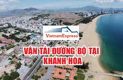 Vận tải hàng hóa đường bộ tại Khánh Hòa