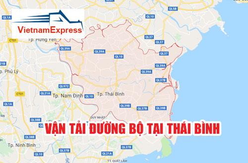 Vận tải đường bộ tại Thái Bình