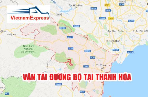 Vận tải đường bộ tại Thanh Hóa