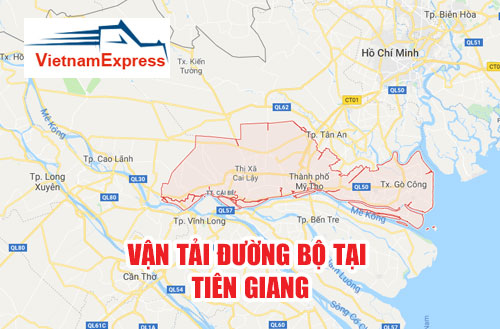 Vận tải đường bộ tại Tiền Giang