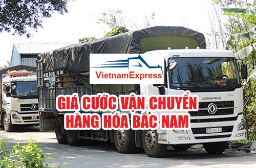 Giá cước vận chuyển hàng hóa Bắc Nam
