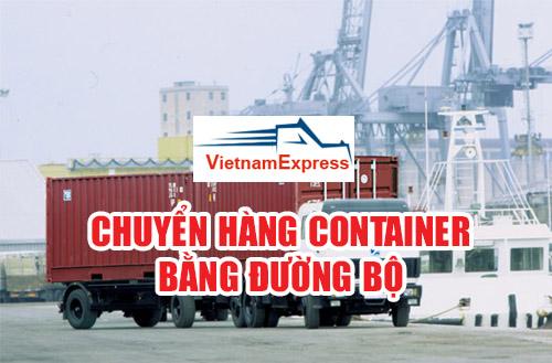 Vận chuyển container bằng đường bộ - Vận tải đường bộ
