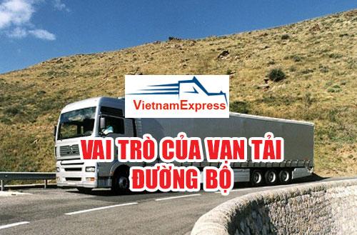 Vai trò của vận tải đường bộ trong nền kinh tế Việt Nam 2019
