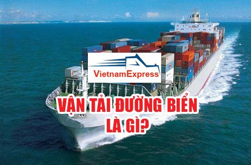 Vận tải đường biển là gì