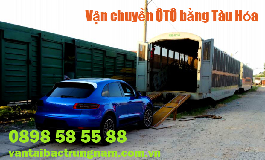 Chuyển gửi xe ô tô từ Sài Gòn ra Hà Nội bằng tàu hỏa