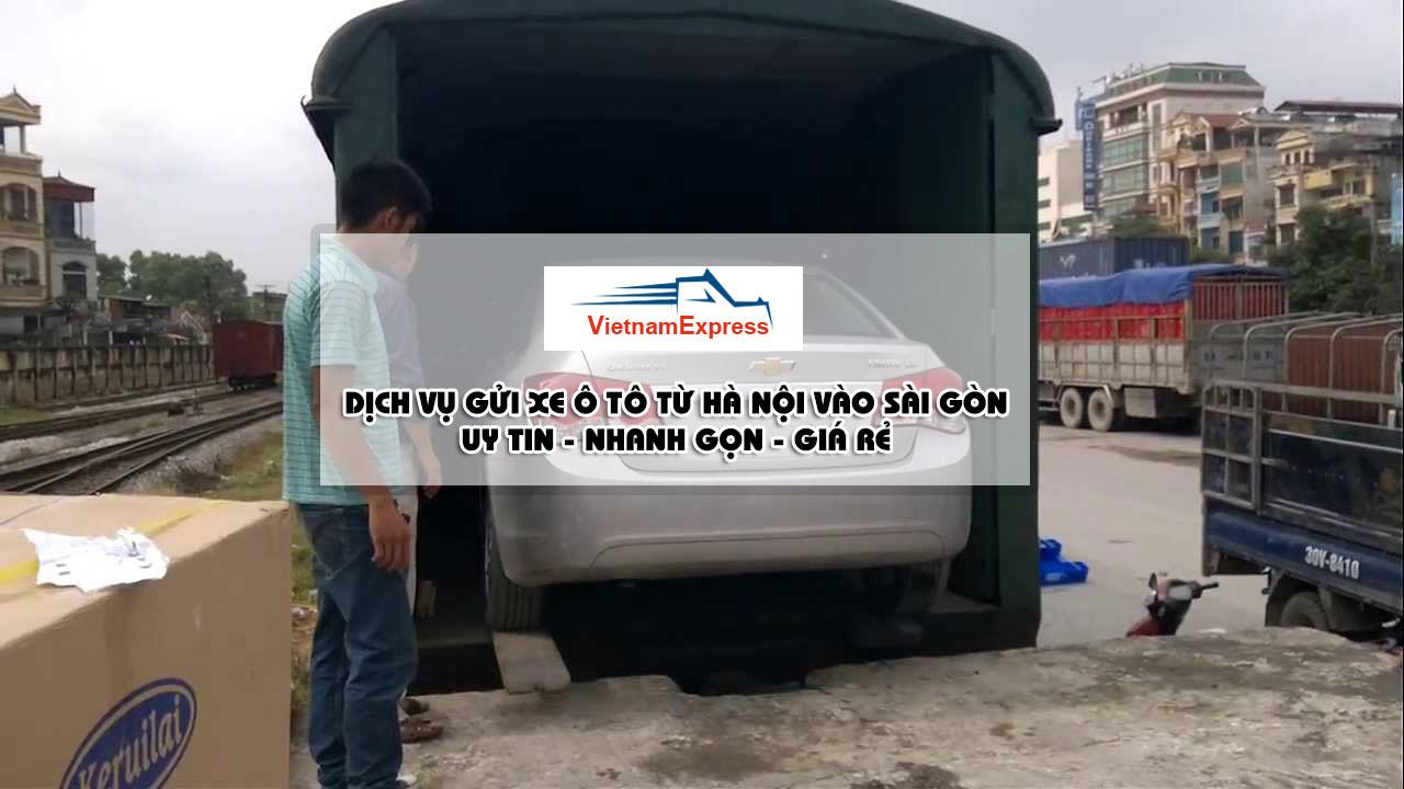 Gửi xe ô tô hà nội sài gòn - Vận Chuyển ÔTÔ Bắc Nam BH 100%